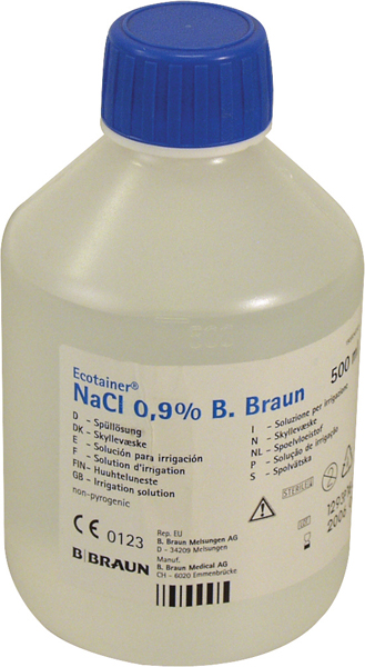 Saltvann Nacl Ecotainer 0.9% 500ml