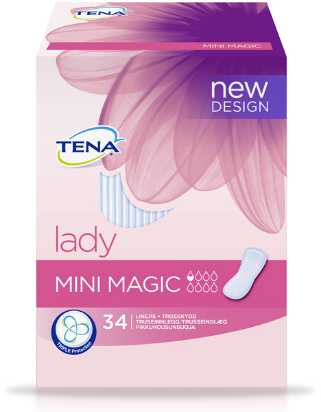 Bleie Tena Lady Mini Magic 34pk
