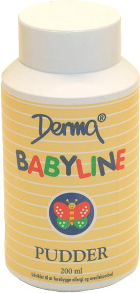 Pudder Babyline 100g