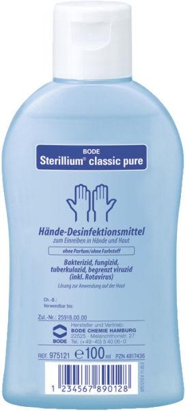 Hånddesinfeksjon Sterillium classic pure 100ml