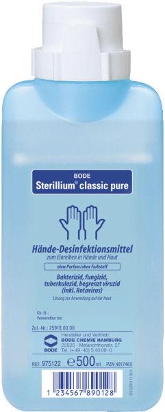 Hånddesinfeksjon Sterillium classic pure 500ml