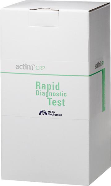 Actim CRP test visuell avlesning
