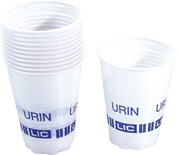 Urinprøveglass 210ml engangs