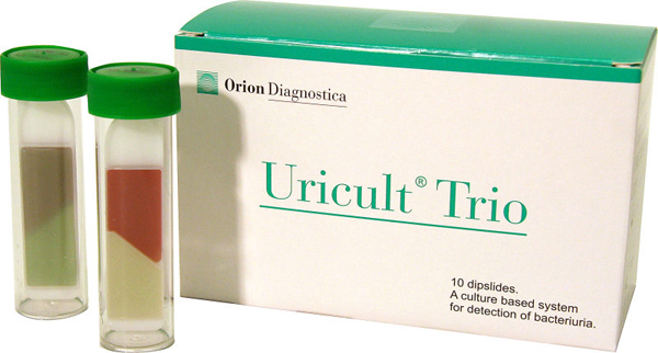Test urin Uricult Trio