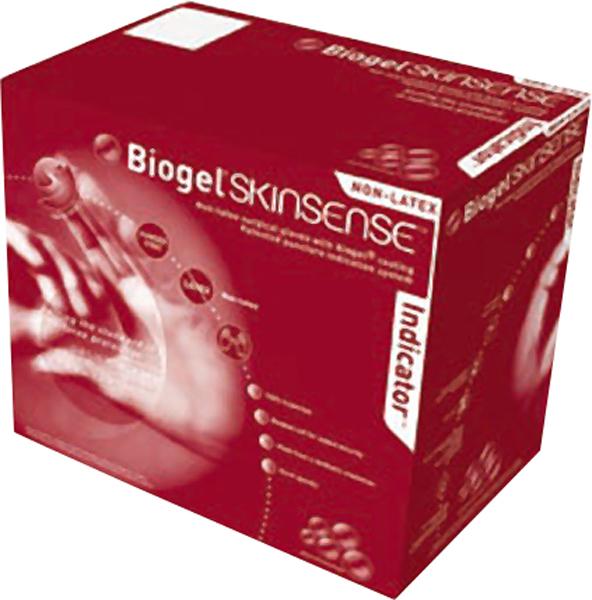Hanske operasjon synt Biogel Skinsense Ind 8,0 par