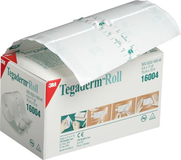 Bandasje transparent Tegaderm Roll 16004 10cmx10m