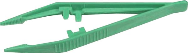 Pinsett engangs grønn usteril