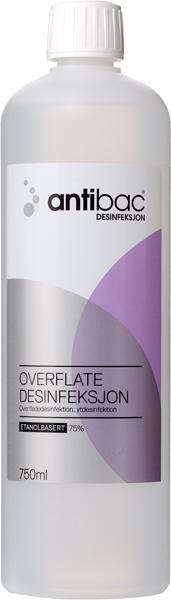 Desinfeksjon Antibac 75% overflate 750ml