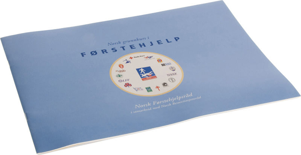 Førstehjelp undervisningsbok Norsk grunnkurs
