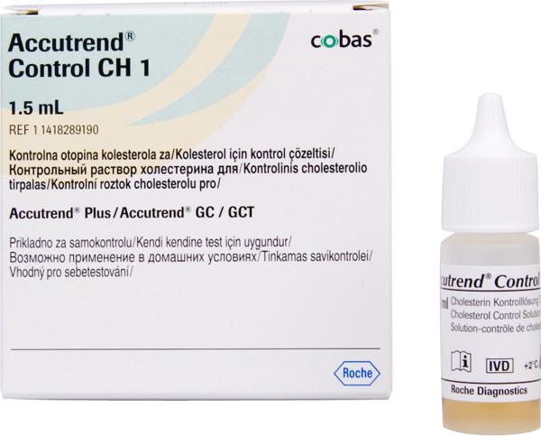 Accu Trend GTC Cholesterol kontroll 1,5ml