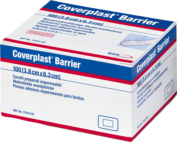 Plaster Coverplast Barrier 3,8x6,3cm