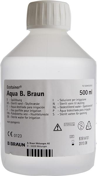 Vann sterilt B. Braun 500ml
