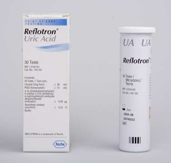 Reflotron Urinsyre U A