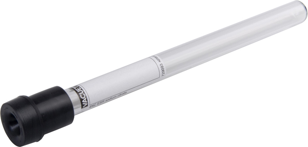 Vakumrør Vacuette senkning Na-citrat 1,6ml sort