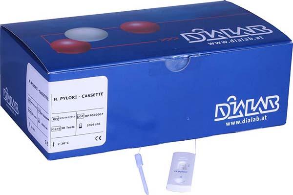 Diaquick Helicobacter Pylori kasett