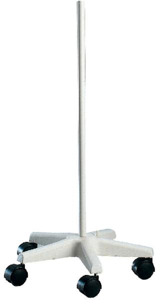 Gulvfeste til Glamox lamper trolley hvit