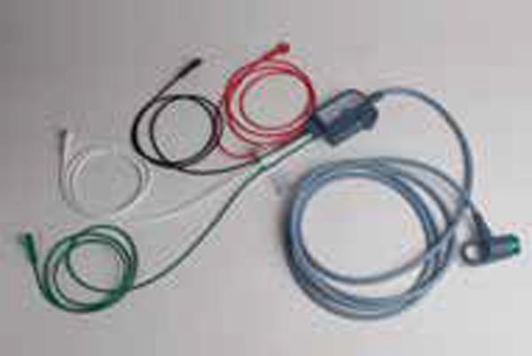 Hjertestarter LP12 EKG stam kabel 12 avledning