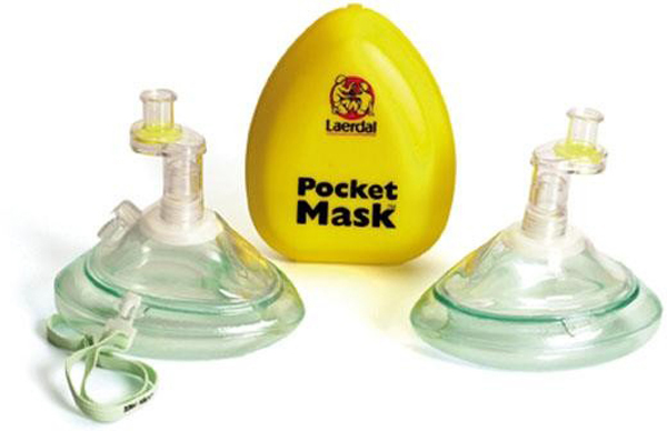 Maske Pocket enveisventil m/filter