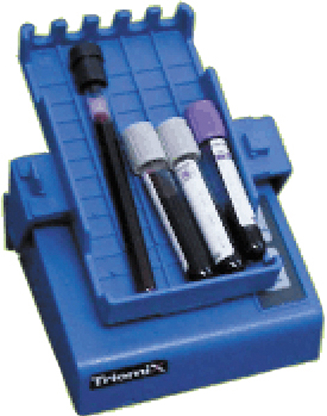 Blodvippe Triomix blå m/batterieliminator