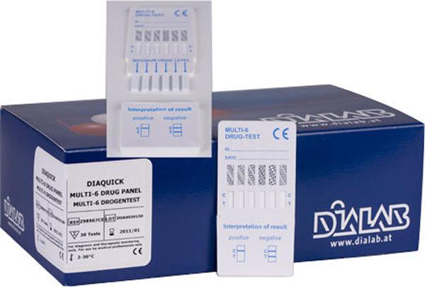 Narkotikatest Multitest Diaquick Multi-6