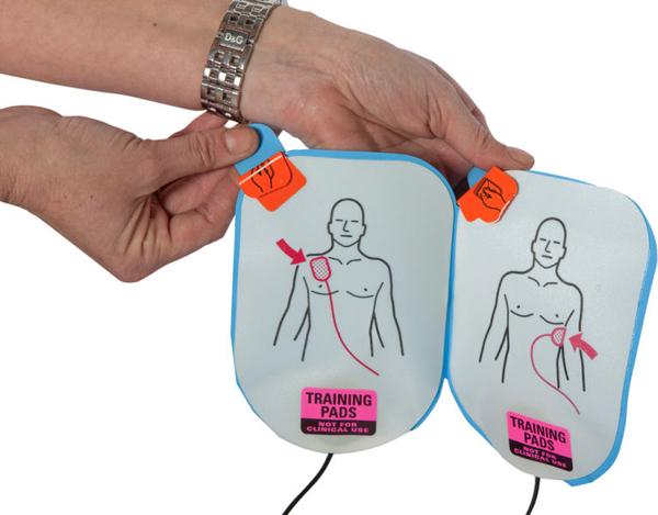 Hjertestarter Lifeline elektroder TR m/kabel 2pk