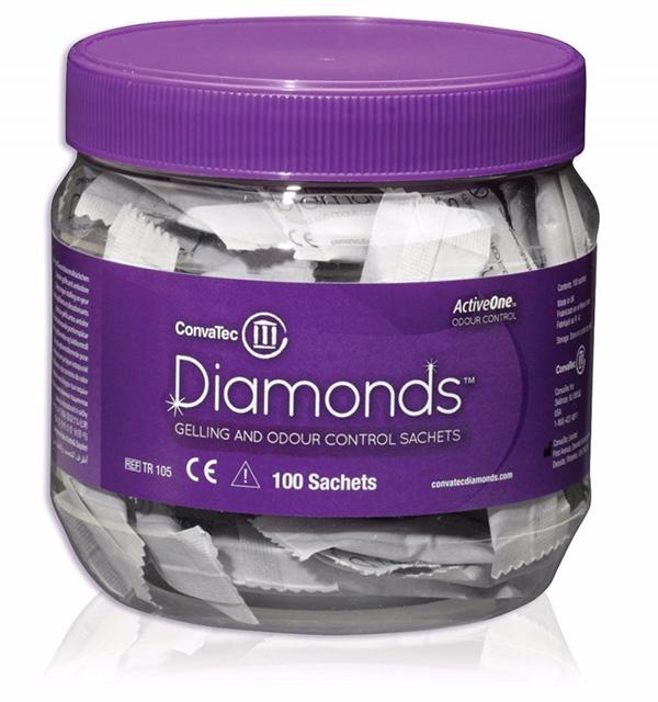 Stomi Trio Diamonds lukt/gass abs 100 poser