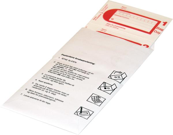 Hemo-Fec konvolutter m/slides