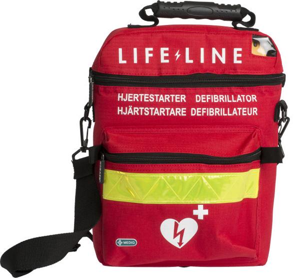 Hjertestarter Lifeline bæreveske SK