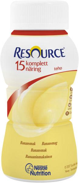 Drikk Resource Kompl Næring 1,5 TEHO banan 200ml