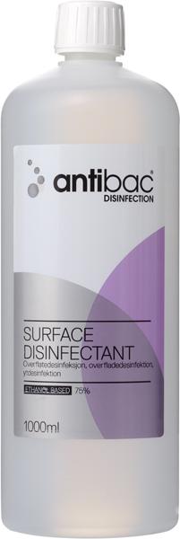 Desinfeksjon Antibac 75% overflate 1000ml