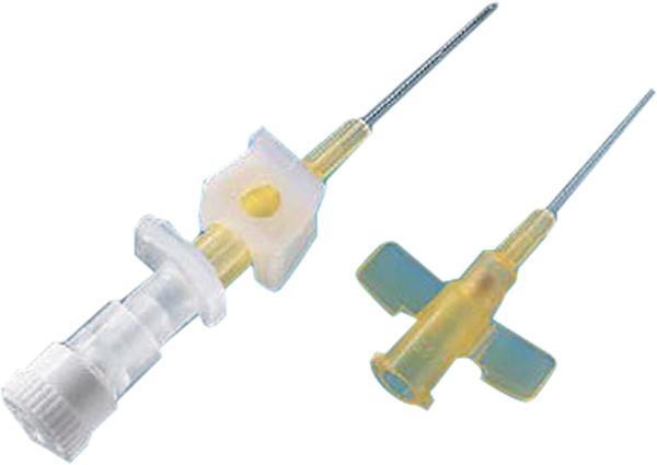 Kanyle infusjon BD Neoflon 0,7x19mm 24G gul