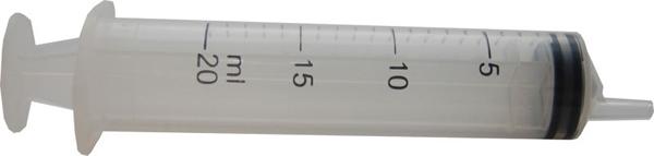 Sprøyte BD PlastiPak eksentrisk 20ml