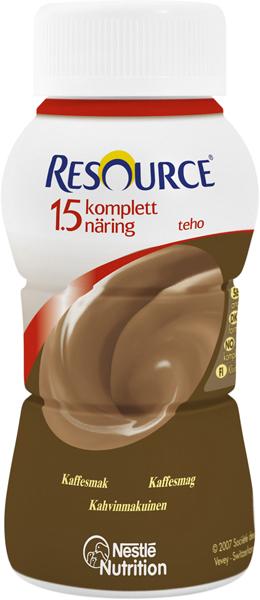 Drikk Resource Kompl Næring 1,5 TEHO kaffe 200ml