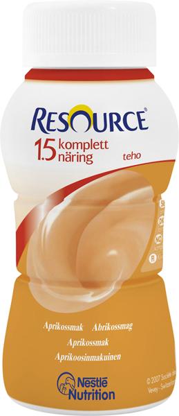Drikk Resource Kompl Næring 1,5 TEHO aprik 200ml
