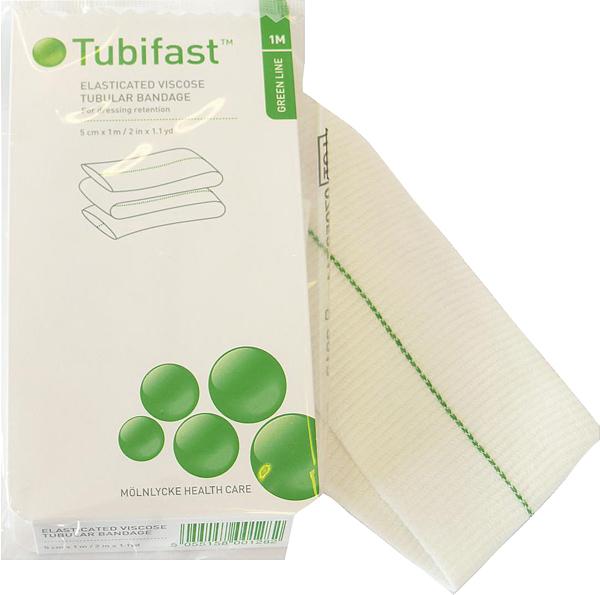 Fiksering Tubifast 2-way stretch 5cmx1m grønn