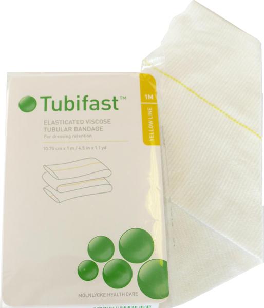 Fiksering Tubifast 2-way stretch 10,75cmx1m gul