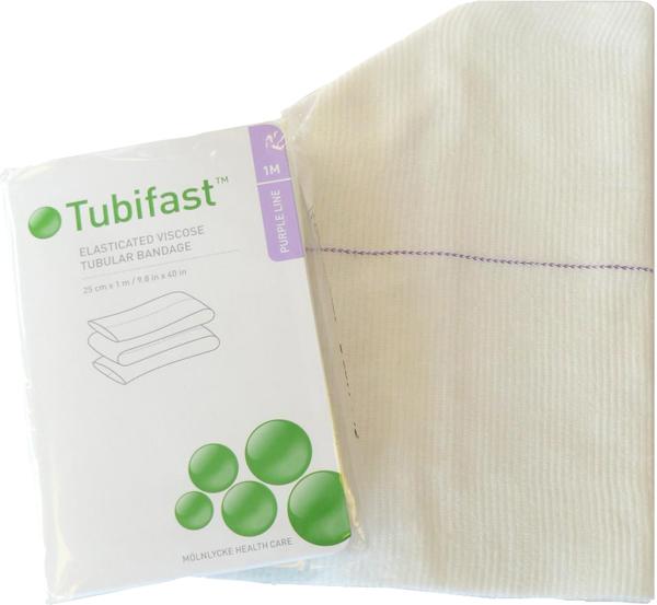 Fiksering Tubifast 2-way stretch 25cmx1m lilla