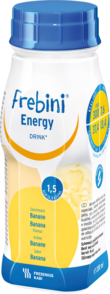 Drikk Frebini Energy Fibre Drink banan 200ml 4pk
