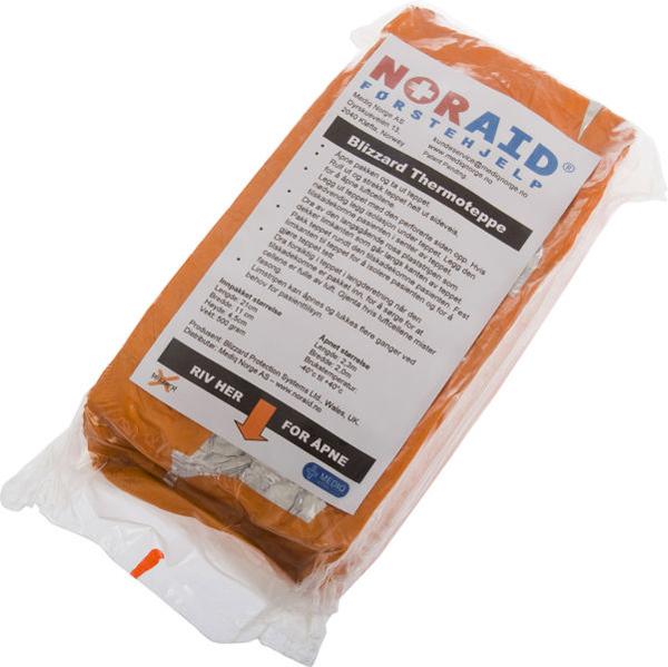 Førstehjelp Blizzard thermoteppe orange