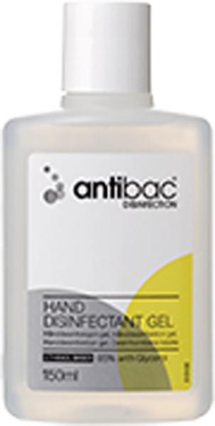 Hånddesinfeksjon Antibac 85% gel 150ml