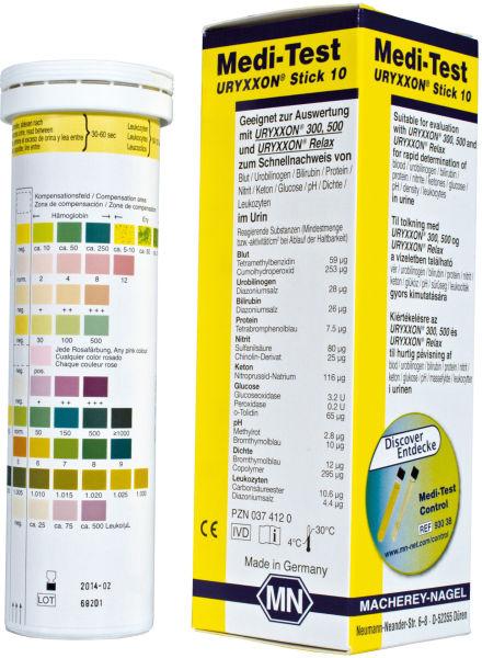Medi-Test URYXXON 10 urinstrimmel