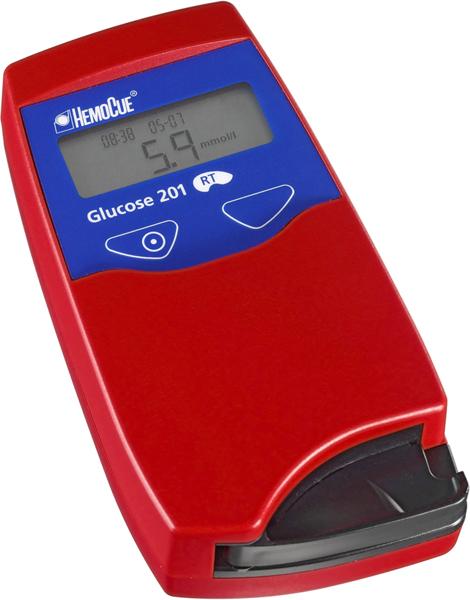 HemoCue Glucose 201 RT apparat