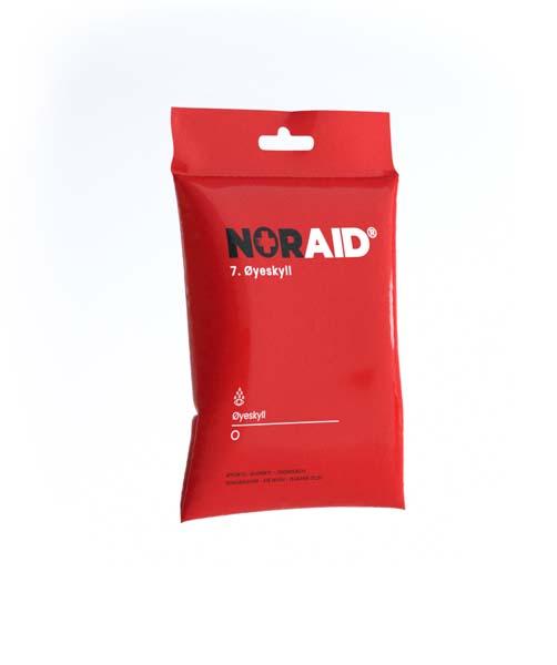 Førstehjelp Noraid innholdspose 7 Øyeskyll