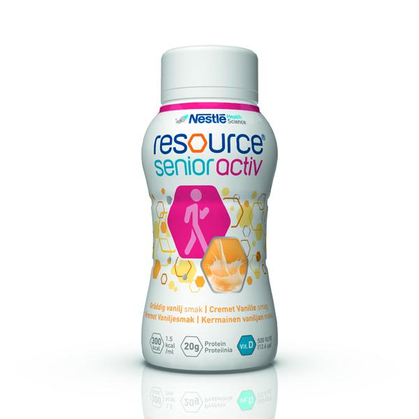 Drikk Resource Senior Active vanilje 200ml