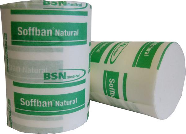 Gipspolstring natural Soffban grønn 5cmx2,7m