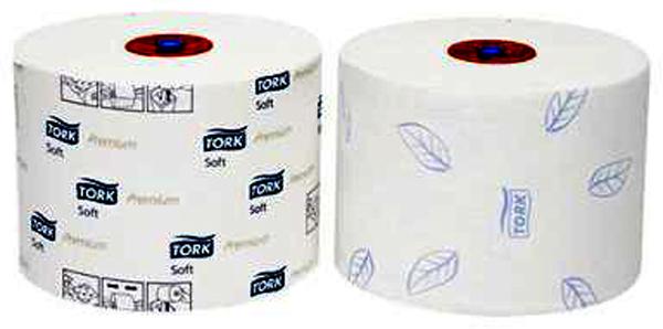 Toalettpapir Tork Premium Compact T6 2-lag 90m
