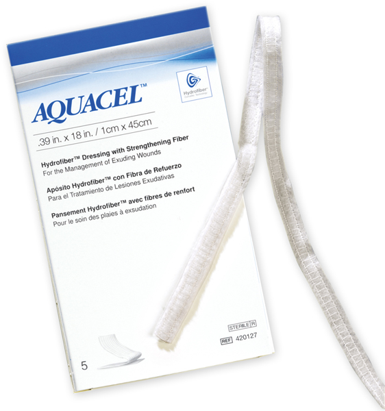 Bandasje hydrofiber Aquacel fyller 1x45cm