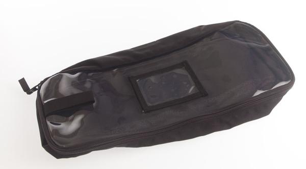 Førstehjelp lomme til ryggsekk/bag sort L