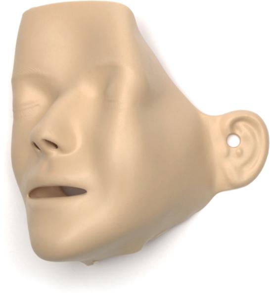 Lærdal Resusci Anne modell ansiktshud
