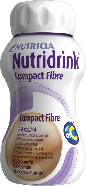 Drikk Nutridrink Compact Fibre kaffe 125 ml 4pk